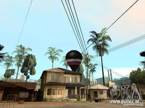 Ballon Witjas für GTA San Andreas linke Ansicht