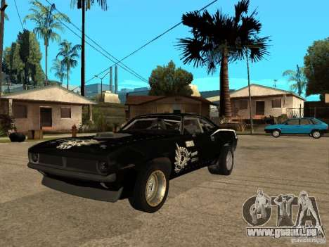 Plymouth Hemi Cuda Rogue Speed für GTA San Andreas