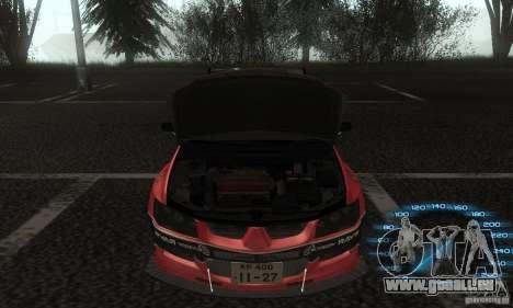 Mitsubishi Lancer IX APR pour GTA San Andreas vue de droite