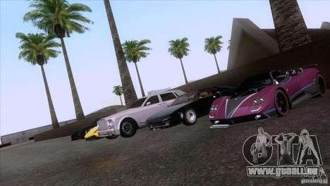 Rolls Royce Phantom Hamann pour GTA San Andreas roue