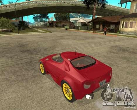 Lancia Stratos Fenomenon für GTA San Andreas linke Ansicht