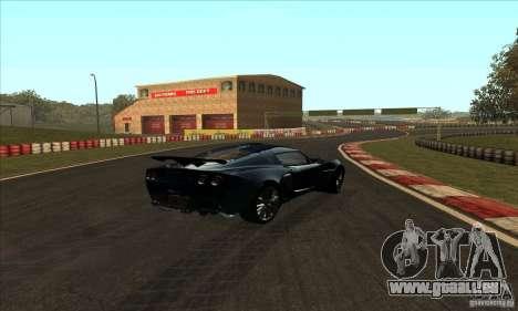 Piste GOKART Route 2 pour GTA San Andreas troisième écran