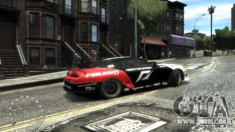 Toyota Supra Fredric Aasbo für GTA 4 linke Ansicht