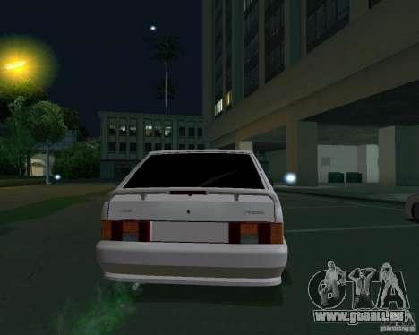 ВАЗ 2114 Extras pour GTA San Andreas sur la vue arrière gauche