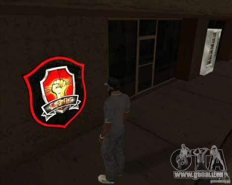Graffiti stalkers für GTA San Andreas