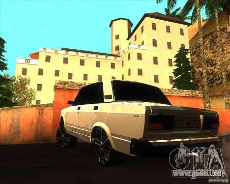 VAZ 2107 Azeri Style pour GTA San Andreas laissé vue