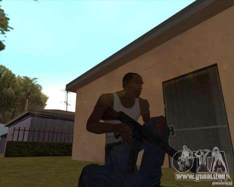 Mp43 (stg44) from wolfenstein pour GTA San Andreas troisième écran
