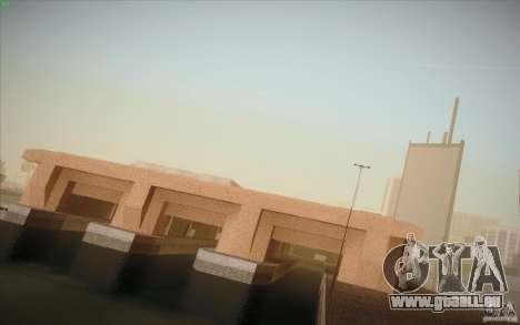 New SF Army Base v1.0 pour GTA San Andreas deuxième écran