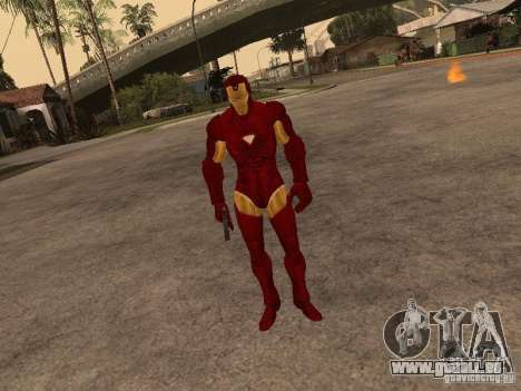 Iron Man pour GTA San Andreas