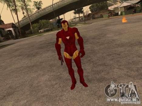 Iron Man pour GTA San Andreas