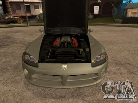 Dodge Viper Coupe 2008 für GTA San Andreas rechten Ansicht