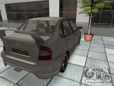 Kalina 1118 VAZ pour GTA San Andreas laissé vue