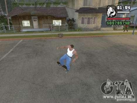 Patinage pour GTA SA pour GTA San Andreas cinquième écran