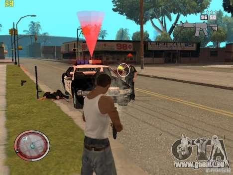 Outre le HUD de GTA IV pour GTA San Andreas sixième écran