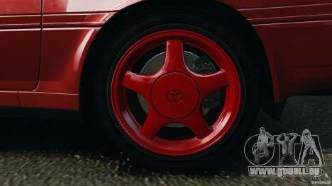 Toyota Supra 3.0 Turbo MK3 1992 v1.0 [EPM] für GTA 4 Unteransicht