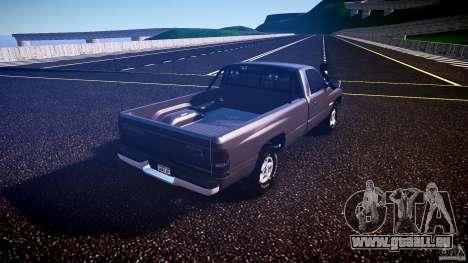 Dodge Ram 2500 1994 pour GTA 4 est un droit