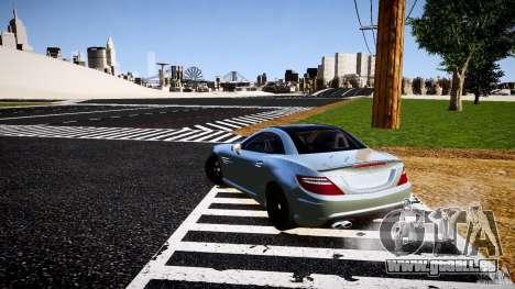 Mercedes-Benz SLK 2012 pour GTA 4 Vue arrière