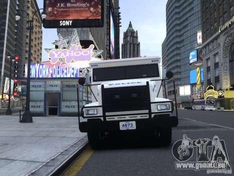 Enforcer Emergency Service NYPD pour GTA 4 est une gauche