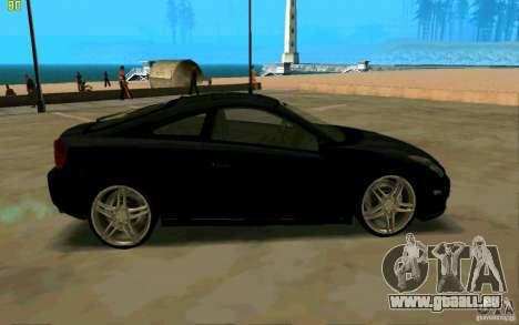 Toyota Celica 2005 pour GTA San Andreas laissé vue
