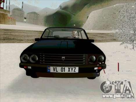 Dacia 1310 Sport pour GTA San Andreas vue intérieure