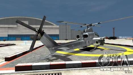 Bell AH-1Z Viper für GTA 4 hinten links Ansicht