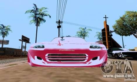 Honda S2000 The Fast and the Furious 2 pour GTA San Andreas sur la vue arrière gauche