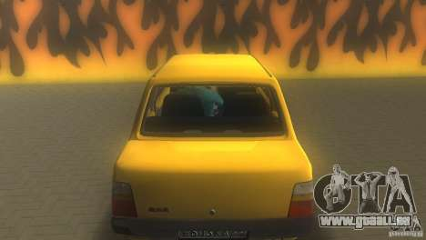 VAZ 1111 Oka Sedan pour GTA Vice City vue arrière