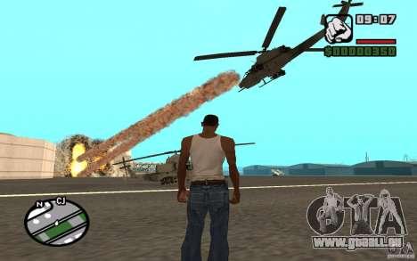 Luftunterstützung, wenn Sie angreift. für GTA San Andreas zweiten Screenshot