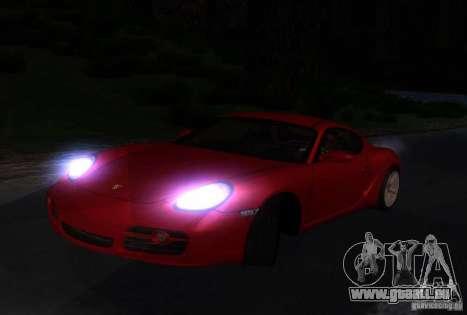Porsche Cayman S pour GTA San Andreas vue de côté
