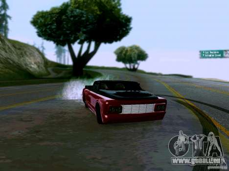 Slamvan Tuned für GTA San Andreas rechten Ansicht