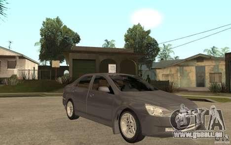 Honda Accord 2004 v2 pour GTA San Andreas vue arrière