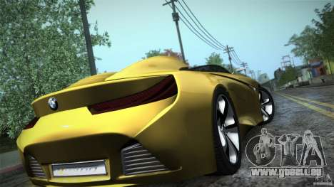 BMW Vision Connected Drive Concept für GTA San Andreas Innenansicht