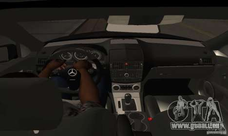Mercedes-Benz C180 für GTA San Andreas Rückansicht