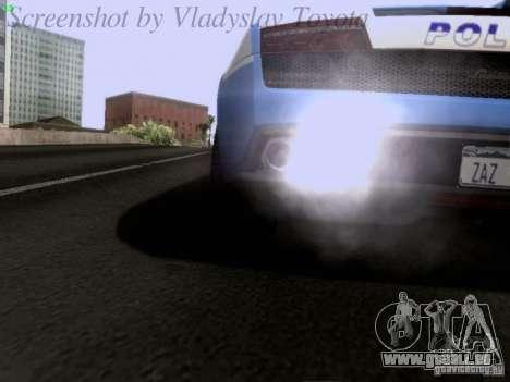 Lamborghini Gallardo LP560-4 Polizia für GTA San Andreas Seitenansicht