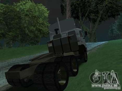 KAMAZ 5410 für GTA San Andreas rechten Ansicht