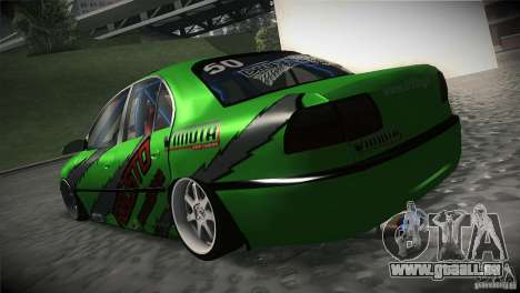 Opel Omega pour GTA San Andreas sur la vue arrière gauche