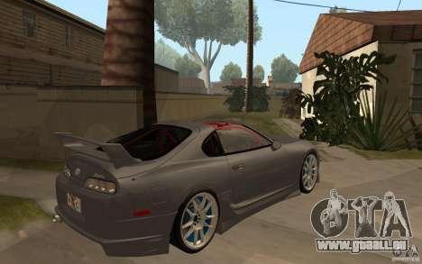 Toyota Supra Rz The Bloody Pearl 1998 pour GTA San Andreas vue de droite