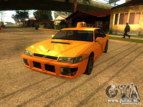 Taxi Sultan pour GTA San Andreas laissé vue