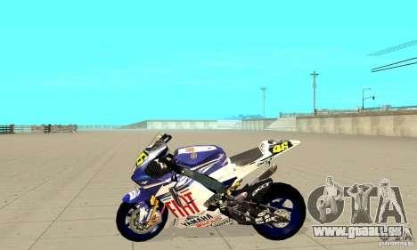 Honda Valentino Rossi Nrg500 für GTA San Andreas linke Ansicht