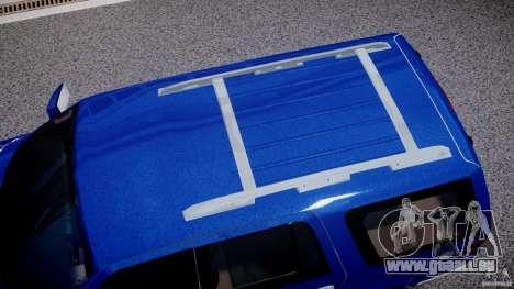 Lincoln Navigator 2004 pour GTA 4 vue de dessus