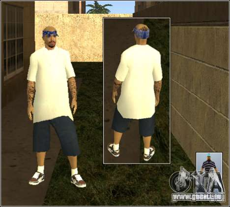 Skin Pack Getto für GTA San Andreas elften Screenshot