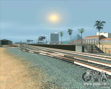 Les plates-formes élevées dans les gares pour GTA San Andreas sixième écran