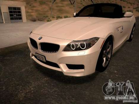 BMW Z4 sDrive28i 2012 pour GTA San Andreas moteur