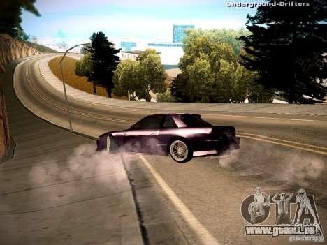 Nissan Silvia S13 Tandem Of DIE für GTA San Andreas linke Ansicht