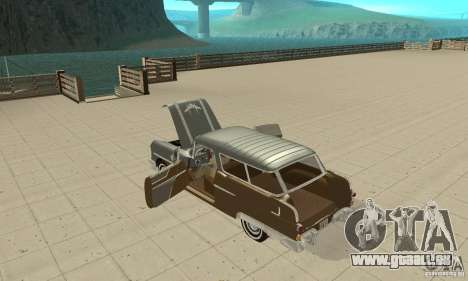 Pontiac Safari 1956 für GTA San Andreas Innenansicht