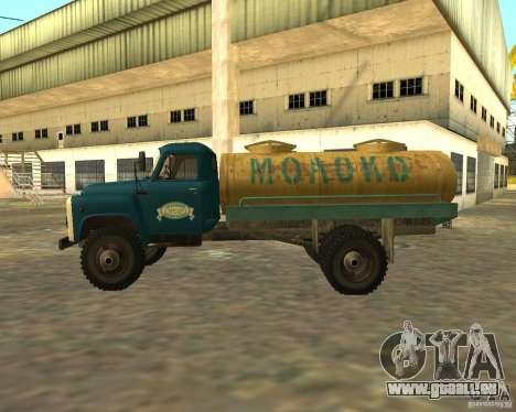 CAMION DE GAZ 53-12-3 pour GTA San Andreas laissé vue