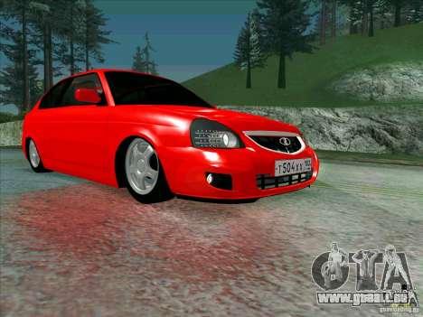 Lada Priora Coupe für GTA San Andreas Innenansicht
