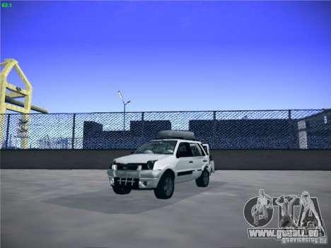 Ford EcoSport 2008 pour GTA San Andreas vue arrière