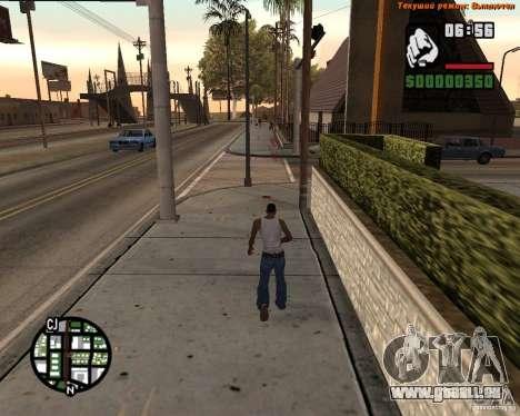 Super kick für GTA San Andreas zweiten Screenshot