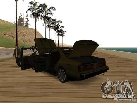 Sentinel XS pour GTA San Andreas vue de droite
